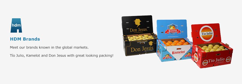 HDM Brands: Tio Julio, Kamelot and Don Jesus